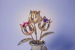 Golden flower Royalty Free Stock Image