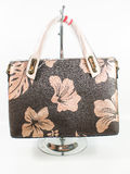 Golden Flower handbag Stock Photography