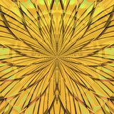 Golden flower pattern Royalty Free Stock Photo