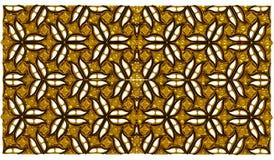 Golden flower pattern wallpaper background. Golden flower pattern texture wallpaper background Stock Image