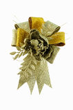 Golden Flower Ribbon Royalty Free Stock Photos