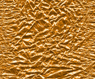 Golden foil. Abstract background of golden foil, high detail stock photos
