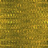 Golden Foil Seamless Pattern Stock Photography