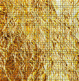 Golden foil texture Royalty Free Stock Photography