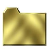 Golden Folder Royalty Free Stock Image