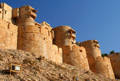 Golden Fort in Jaisalmer Royalty Free Stock Photos