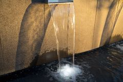 Golden fountain Stock Photos