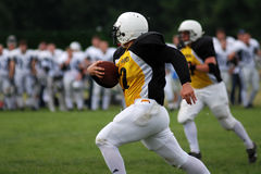 Golden Fox - Budapest Cowboys football match Royalty Free Stock Photos