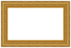 Golden frame 15 Royalty Free Stock Image