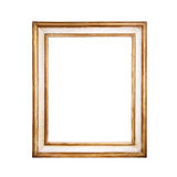 Golden frame. Stock Images