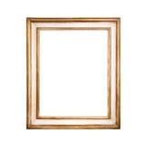 Golden frame. Stock Images