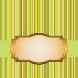 Golden frame. Stock Image