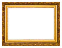 Golden frame Stock Photos