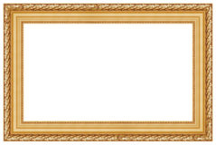 Golden frame 2 Royalty Free Stock Photo