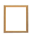 Golden frame Stock Photography
