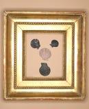 Golden Frame. Golden antique frame royalty free stock photo