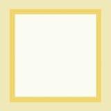 Golden frame. Illustration of golden frame Royalty Free Stock Image