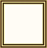 Golden frame Stock Images