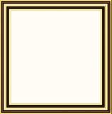 Golden frame. Illustration of golden frame Stock Images
