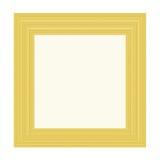 Golden frame. Illustration of golden frame Stock Photography