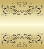 Golden frame Royalty Free Stock Images
