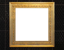 Golden frame Royalty Free Stock Photography