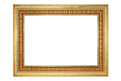 Golden frame. Royalty Free Stock Images