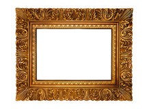 Golden frame. Royalty Free Stock Photo