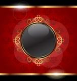 Golden frame for design packing Stock Photo