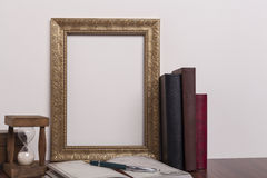 Golden Frame Royalty Free Stock Images