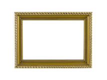 Golden Frame vintage Royalty Free Stock Images