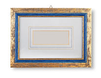 Golden  frame Stock Image