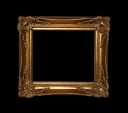Golden Frame With Path Royalty Free Stock Image