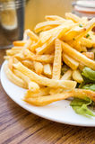 Golden French fries potatoes Stock Photography