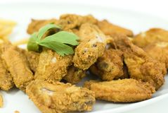 Golden fried chicken Royalty Free Stock Images
