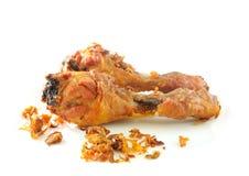 Golden  fried chicken drumsticks Stock Photography