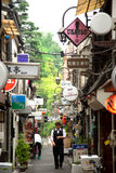 Golden gai area in Tokyo Stock Photography