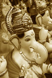 Golden Ganesha Royalty Free Stock Photos