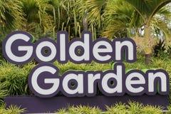 Golden Garden Stock Photography