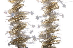 Golden garland Royalty Free Stock Image