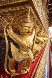 Golden Garuda. At The emerald buddha  Temple in Grand Palace, Bangkok Thailand Stock Images