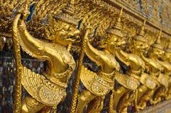 Golden garuda Stock Image
