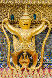Golden Garuda Stock Photos