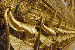 Golden Garuda in Bangkok Grand Palace Royalty Free Stock Photos
