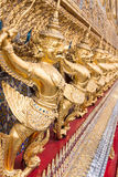 Golden garuda Royalty Free Stock Images