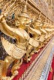 Golden garuda Royalty Free Stock Images