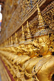 Golden garuda in royal grand palace Royalty Free Stock Photos