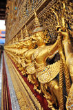 Golden garuda in royal grand palace Royalty Free Stock Photography