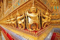 Golden Garuda statue Stock Photography