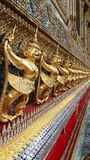 Golden garuda Royalty Free Stock Photography